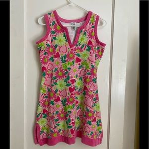 Lilly Pulitzer terry coverup size S